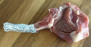 Recipes: lamb cutlets sous vide