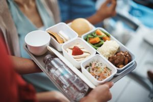 airline food: Cathay Pacific