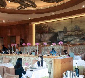 Hong Kong champagne brunch Nicholin's at Conrad
