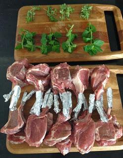 Recipes: lamb cutlets sous vide