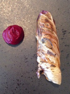 Wallaby and beetroot