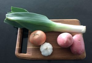 Potato and leek soup recipe