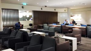 Airport lounges Qantas business international