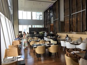 Champagne brunch Bangkok Up & Above Okura Prestige