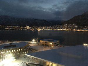 exploring Tromso arctic Norway
