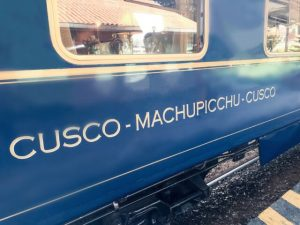 Machu Picchu luxury train Hiram Bingham