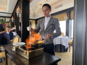 French fine dining in Bangkok Le Normandie Mandarin Oriental