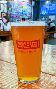 Craft beer in Barcelona CocoVail