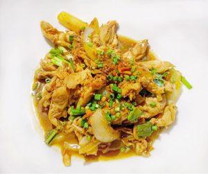 Where to stay in Siem Reap Park Hyatt stir fry chicken