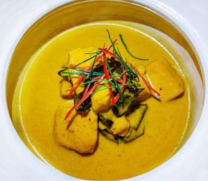 Where to stay in Siem Reap Park Hyatt fish curry
