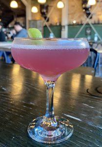 A Cosmopolitan cocktail